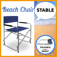 Beach Chair Folding Chair Outdoor Fishing Camping BBQ
