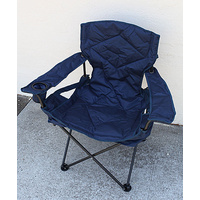 Camping Chair Folding Padded Material Outdoor Hiking Travel Foldable w Carry Bag