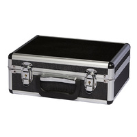 Gun Case for Hand Gun w/ Lock, Aluminium Frame,ABS Panel,Foam Rifle Bag Suitcase