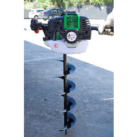 Ground Drill w/ 3 Augers 1.5HP Motor, Earth Auger Borer Digger Posthole Drill
