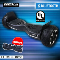 "HEXA Hoverboard 8.5"" Scooter Self Balancing Electric Hover Board Skateboard"