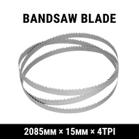Band Saw Bandsaw Meat Saw Blade 2085mm x 15mm x 4TPI Butcher Cutting Meatsaw