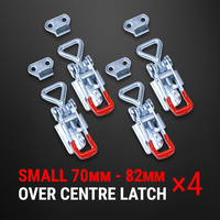 Over Centre Latch Small 4 Pcs Trailer Toggle Overcentre Latch Fastener UTE 4WD