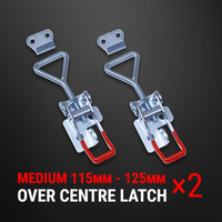Over Centre Latch Medium 2 Pcs Trailer Toggle Overcentre Latch Fastener UTE 4WD