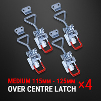 Over Centre Latch Medium 4 Pcs Trailer Toggle Overcentre Latch Fastener UTE 4WD