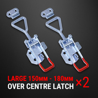 Over Centre Latch Large 2 Pcs Trailer Toggle Overcentre Latch Fastener UTE 4WD