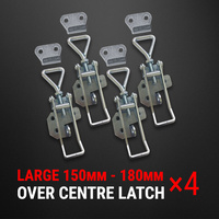 Over Centre Latch Large 4 Pcs Trailer Toggle Overcentre Latch Fastener UTE 4WD
