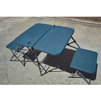 New Two Persons Picnic Setting Foldable Table Chair