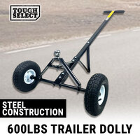Trailer Dolly 600 Lb 270 kg Capacity Utility Camper Hand Dolly Wheel Tow Mover