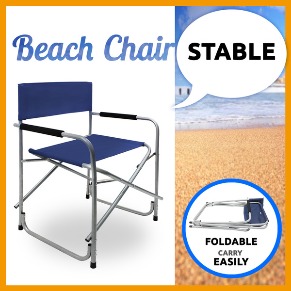 Director Folding Chair Camping Outdoor Picnic Fishing Fold Beach Chair