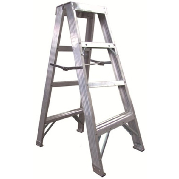 Aluminium Ladder Double-sided 1.2M Industrial Ladder Loading 120kg AUS Standtard