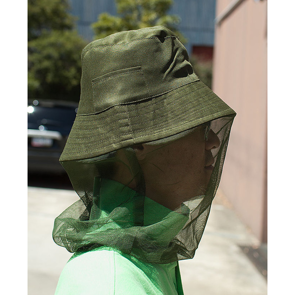Hat with Mosquito Net, Cap, Fly Netting, Camping Hunting, Anti-Inspect Protector