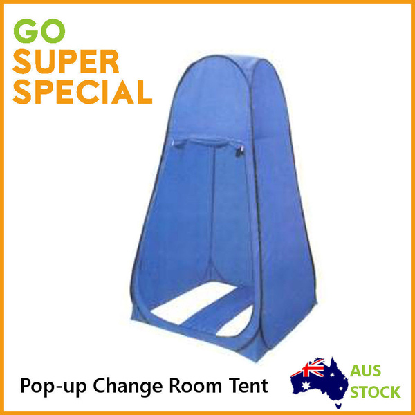 Pop Up Portable Toilet Shower Tent Camping Change Room Tent Outdoor Privacy