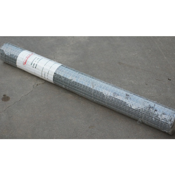 Galvanised Welded Wire Mesh Netting, 5M length x 1219mm wide, Mesh 1.9cm x 1.9cm